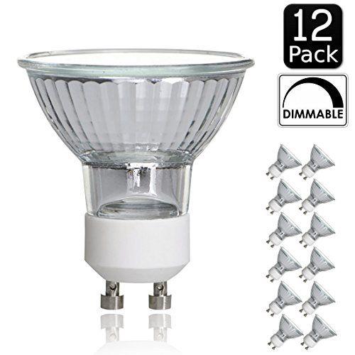 Luxrite Lr20590 12pack 50wgu10120v 50watt Mr16 Halogen Light Bulb