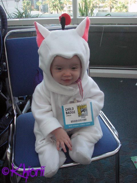 Baby Moogle Cosplay 004 by ~Khiorii on deviantART  sc 1 st  Pinterest & Baby chocobo from Final Fantasy. | Kid costumes | Pinterest | Final ...
