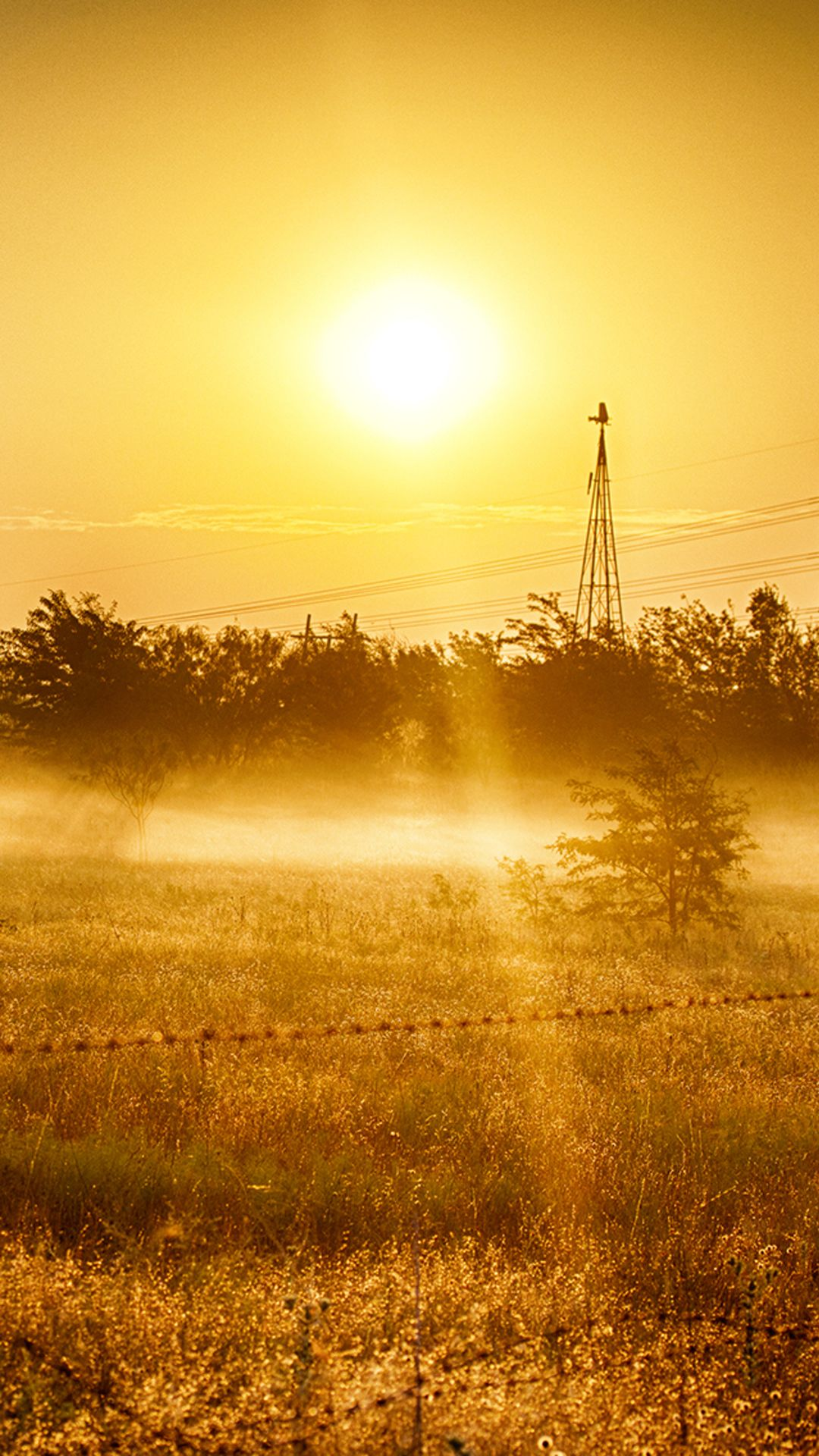 Nature Country Sunrise Landscape iPhone 6 plus