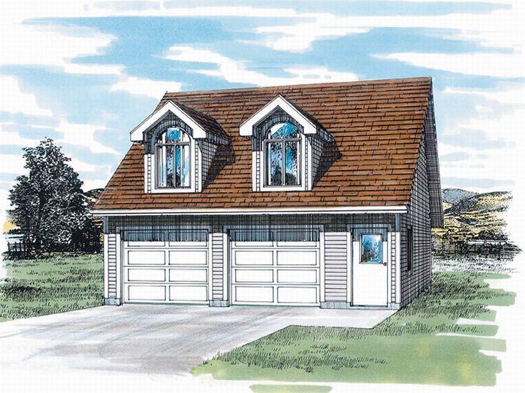 Garage Apartment Plans | Two-Car Garage Apartment Plan ...