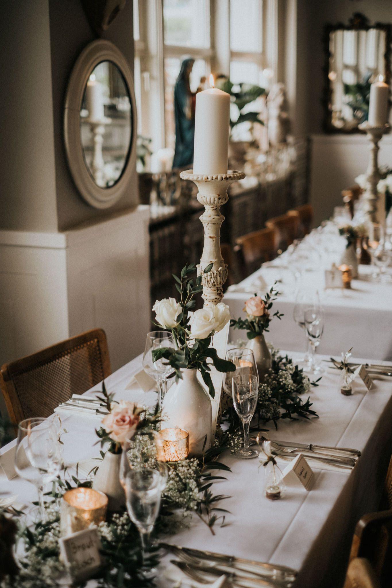 Stilvolle Tischdeko zur Hochzeit   LA DÜ Düsseldorf ♡   Table ...