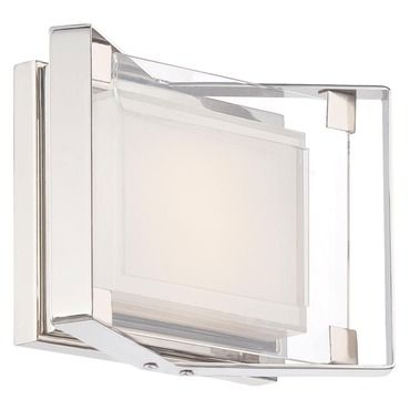 Photo of Crystal clear LED bath bar by George Kovacs | P1181-613-L