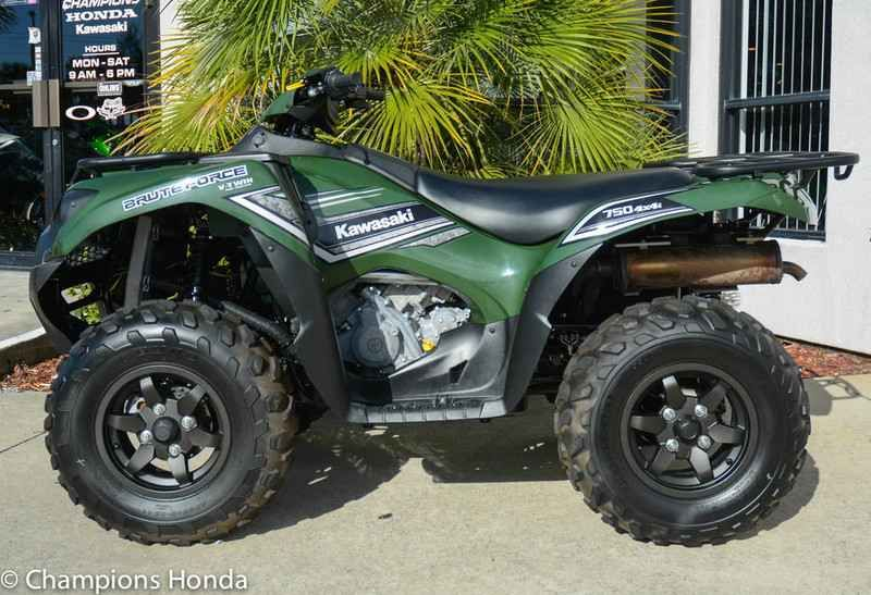 Used 2016 Kawasaki Brute Force 750 4x4i ATVs For Sale in Florida.