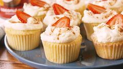 Tres Leches Coconut Cupcakes