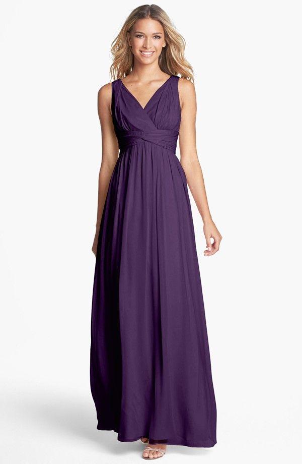 dark purple | Wedding- Maids | Pinterest