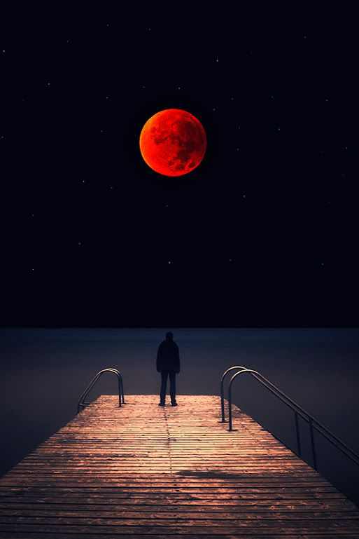 Total Lunar Eclipse 2015 by Vasilis...✔️