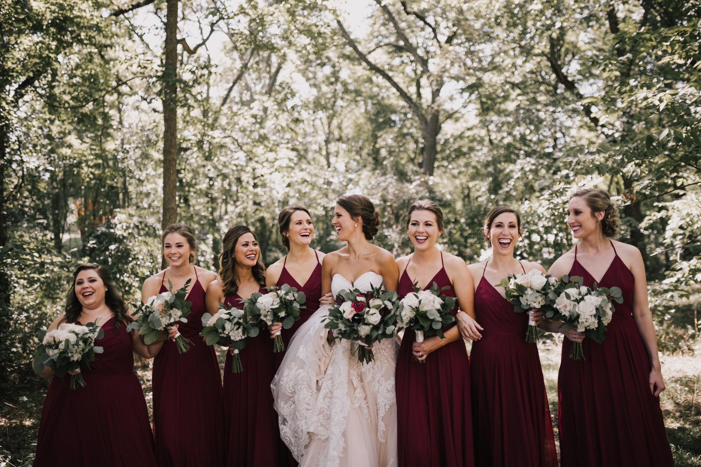 Fun Summer Burgundy Wedding Bridesmaids Style Www Alyssabarletter Com Summer Bridesmaid Dresses Burgandy Bridesmaids Dress Burgandy Wedding [ 1600 x 2400 Pixel ]