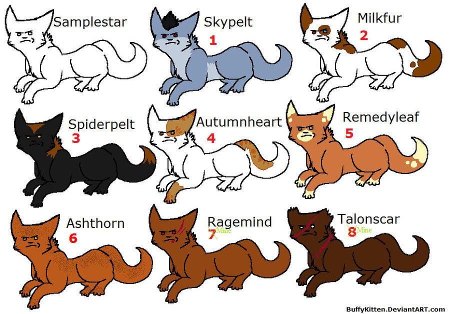 Warrior Cats Pics Of All Cats Warrior Cat Names With Images Warrior Cat Warrior Warrior Cat Names