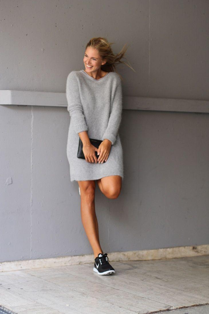 Basket Tendance, Looks Mode, Haute Couture, Robe En Laine, Robe Pull, aa667d0bb1d3