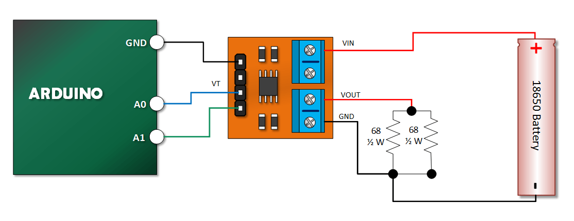 Arduino power meter with max b henry s bench