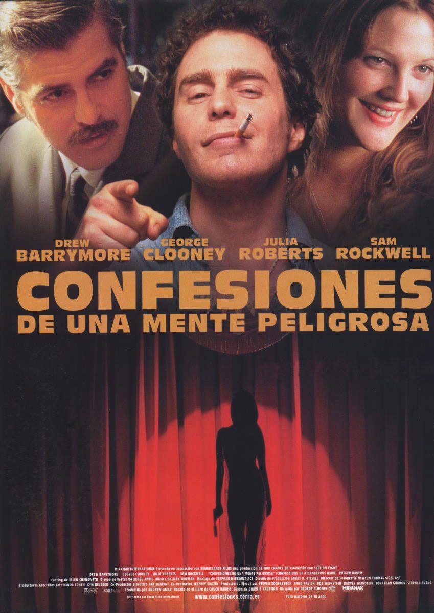 Confesiones De Una Mente Peligrosa 2003 Mentes Peligrosas Peliculas Completas Confesiones
