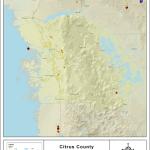 Sinkhole Map Citrus County Interactive Florida Sinkhole Map Of