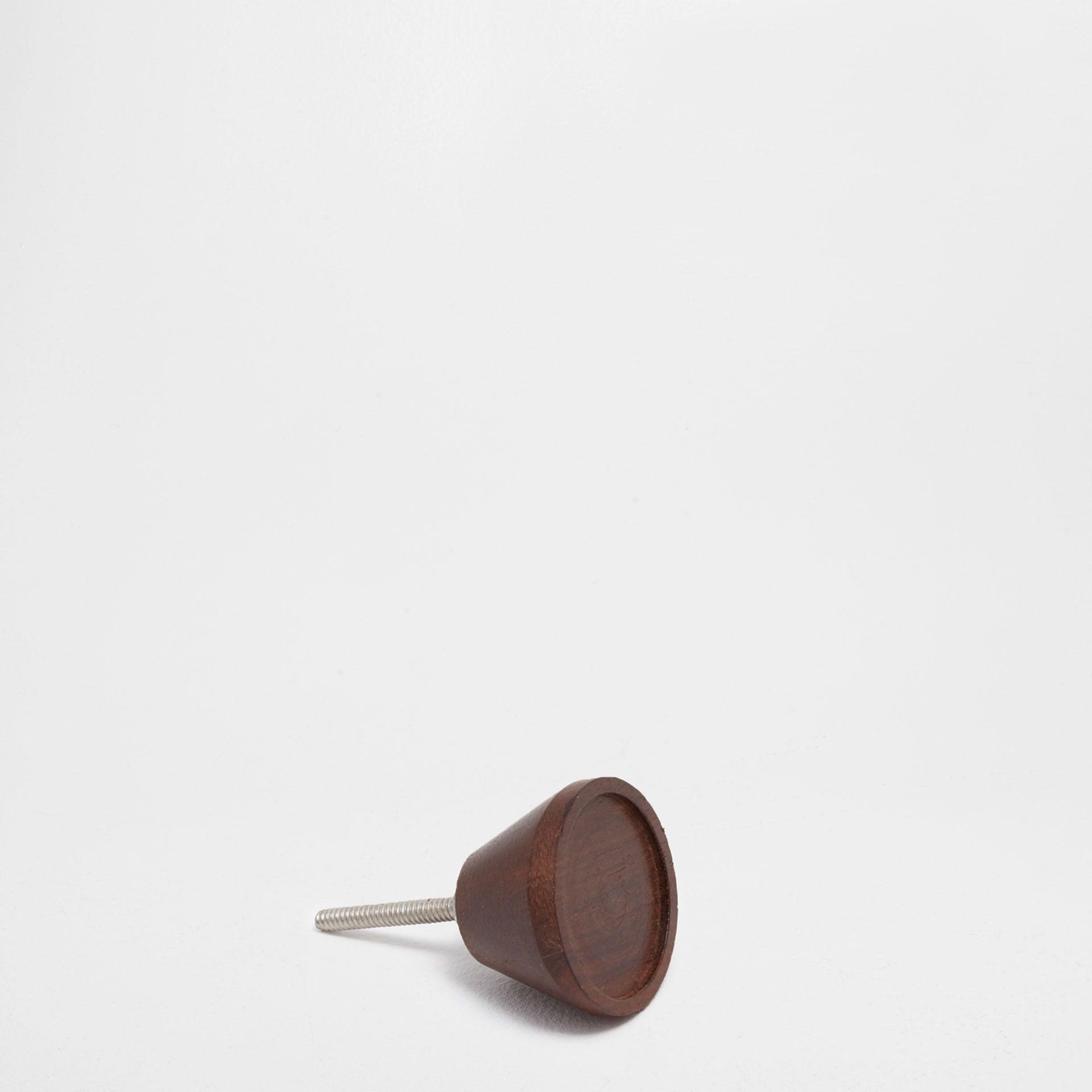 Tirador redondo madera (set de 2) - TIRADORES | COLGADORES ...