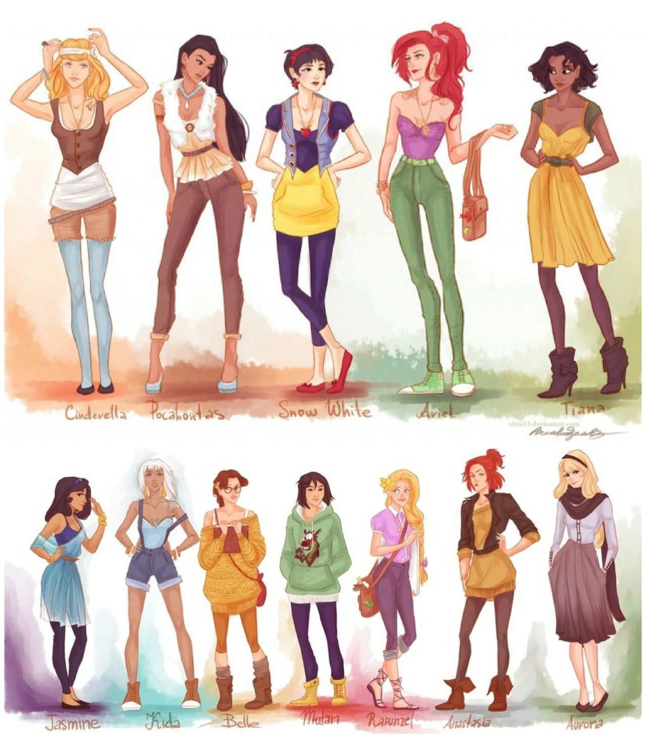 Hipster Disney Characters Tumblr