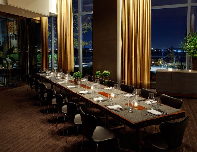Riverpark The East Room Long Table L'Apicio Private Dining Awesome Best Private Dining Rooms In Nyc Remodelling