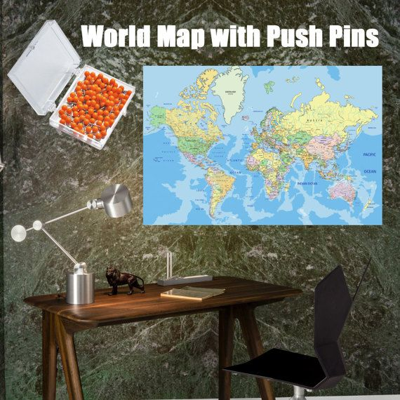 Large world map poster with push pins world travel and world large world map poster with push pins world travel and world business map for pinning gumiabroncs Gallery