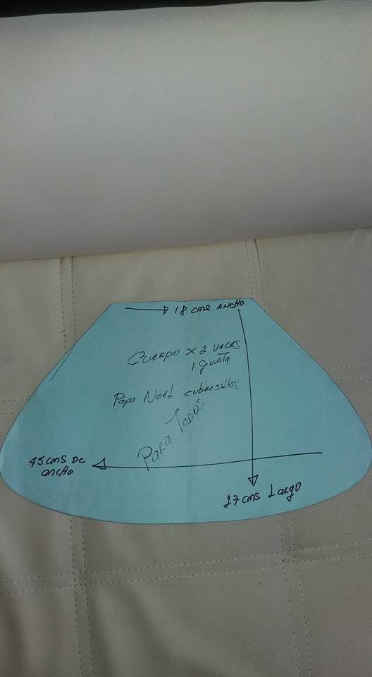 El Rincon De Ana Maria Cubre Sillas Navideños Moldes Y Videos Autoria Y Credito En Las Fotos Fotos Molde Natal