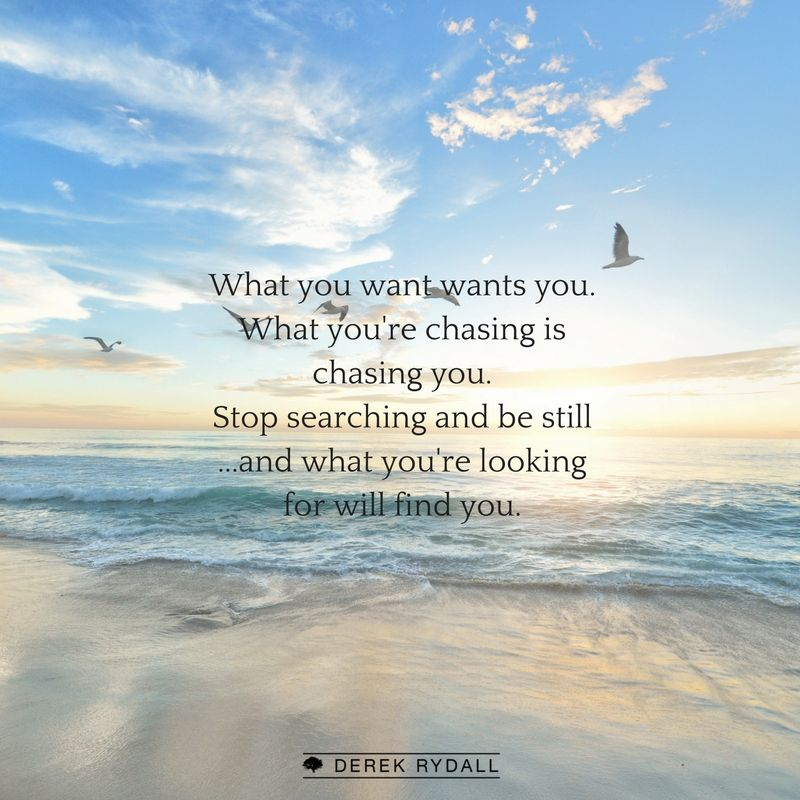 Stop Searching And Be Still D What Youre Looking For Will Find