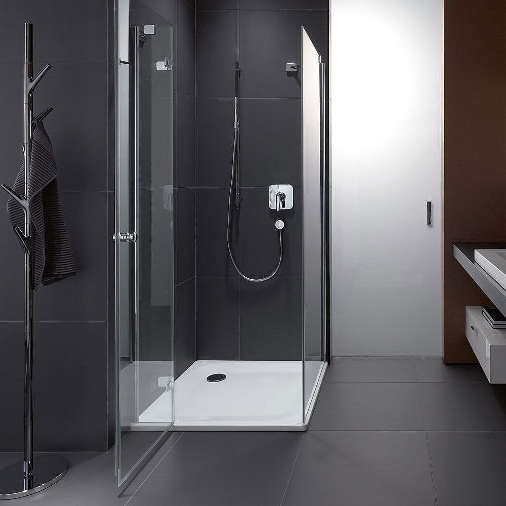 Hart Steel Shower Tray Square in 2019 Bathroom layout