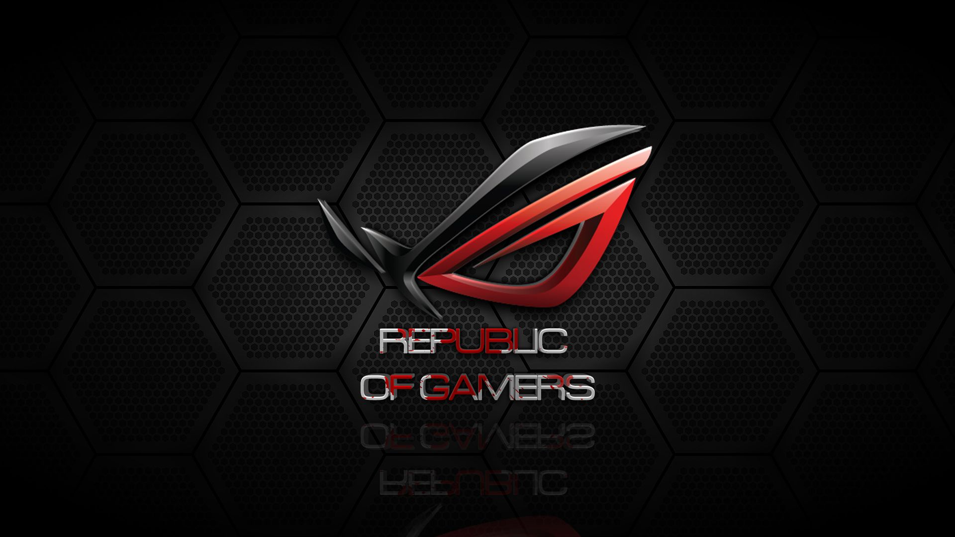 black and red republic of gamers asus rog wallpaper stuff to buy