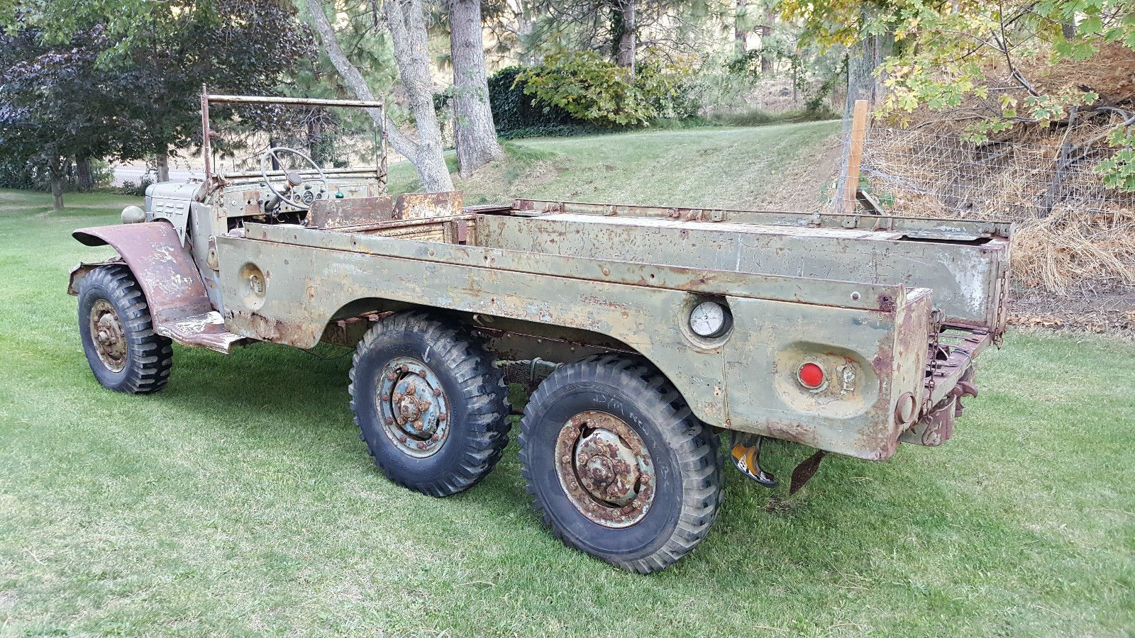 8950 1942 Dodge Wc 62 6 Combat Rims W Good Tires We Have Not Tried To Start It Yet David 714 310 9934 Dodge Power Wagon Power Wagon Power Wagon For Sale