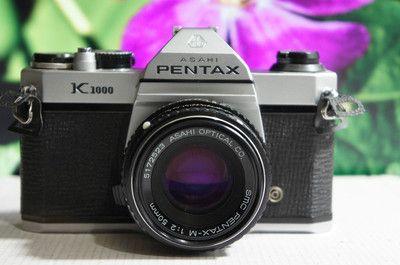 Pentax K1000  Manual everything  35mm
