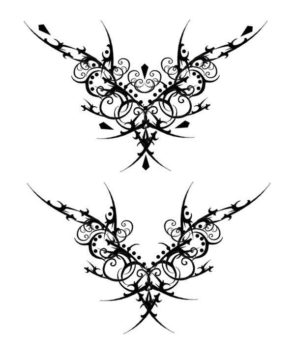 Gothic Designs gothic vamp tat v2quicksilverfury.deviantart on