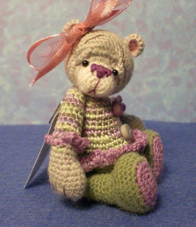 Thread Crochet Bear Pattern #4   Osos, Tejido y Miniaturas