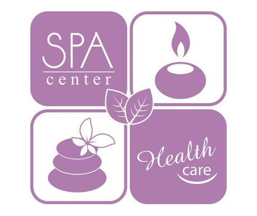 Spa Center, Health Wall Sticker East Urban Home Colour: Lilac, Size: 110 cm H x 112 cm W