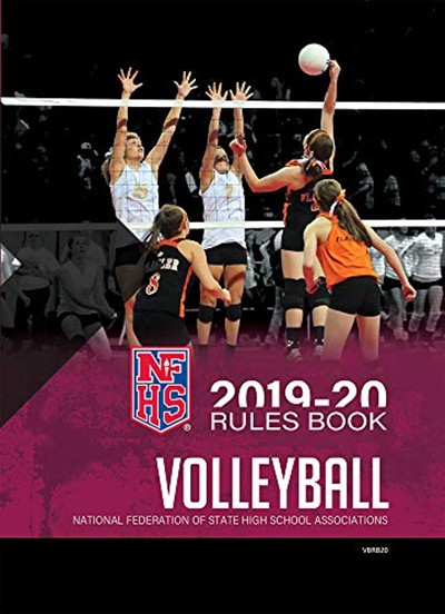 2019 20 Nfhs Volleyball Rules Book By Nfhs Amazon Com Services Llc In 2020 Volleyball Rules Books For Teens Sports Books