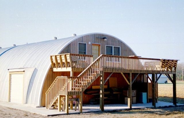Quonset Hut Homes Plans - this will work for us minus the grey ...