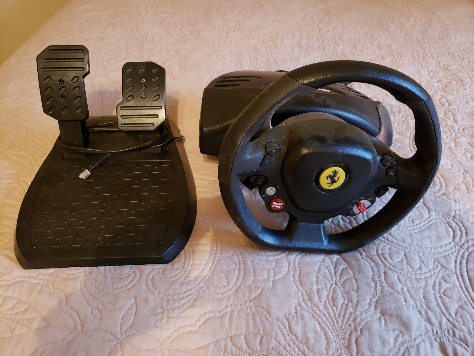 ca italia racing amazon xbox games wheel computer dp thrustmaster and video ferrari