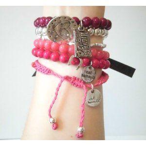 CAT HAMMILL (キャットハミル)  dream pastel hot pink  限定 ラブリーピンク ♪ o^^o ブレスレット ☆