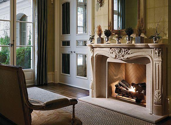 Fireplace mantel an…