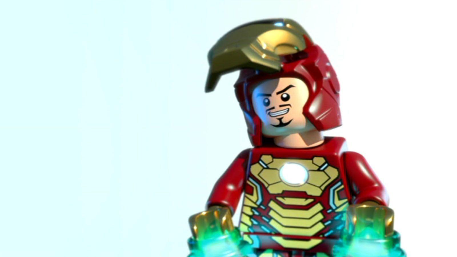 Lego Iron Man Wallpaper