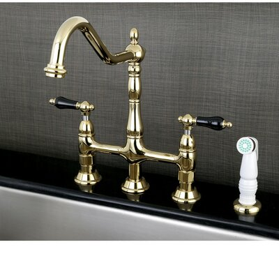 Bolden Series Pull Down Single Handle Kitchen Faucet Kingston