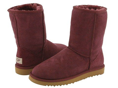 UGG Classic Short Rum Raisin : I love this color. I got a pair this year.