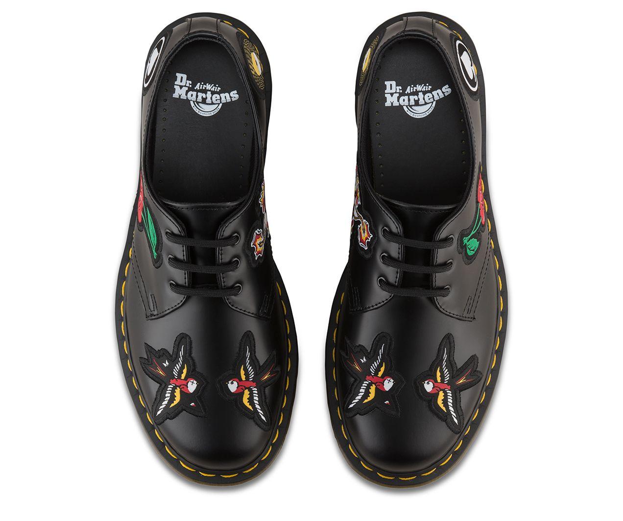 Dr Martens 1461 Patch Martens Unisex Shoes Dr Martens Store