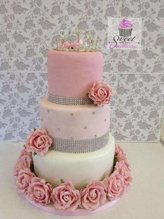 American Style Sweet 16 Birthday cake LOVE THIS IDEA SWEET PINK