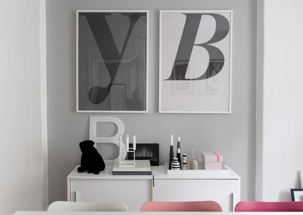 Posters In Interieur : Playtype posters interieur interior interiors