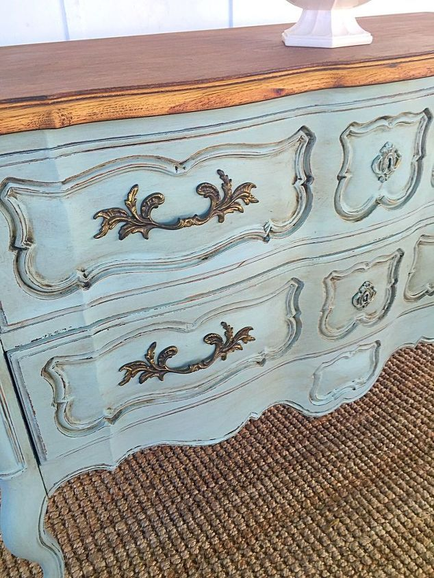 French Provincial Buffet Buffet makeover, French country