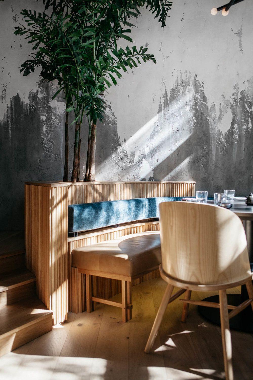 Ryu Westmount Mrdk Interieur Restaurant Japonais Architecture Design Architecture