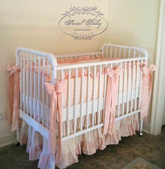 Social Baby Signature Silk Baby Bedding with Thinner Bumpers by SocialBabyBedding on Etsy https://www.etsy.com/listing/159410658/social-baby-signature-silk-baby-bedding