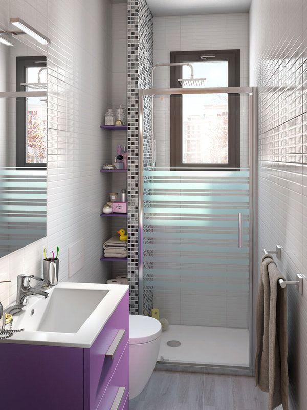 Decorar un baño mini | Diseño de baños, Diseño baños ...