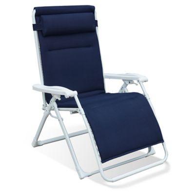 Brilliant Never Rust Summerwinds Aluminum Padded Oversized Adjustable Creativecarmelina Interior Chair Design Creativecarmelinacom