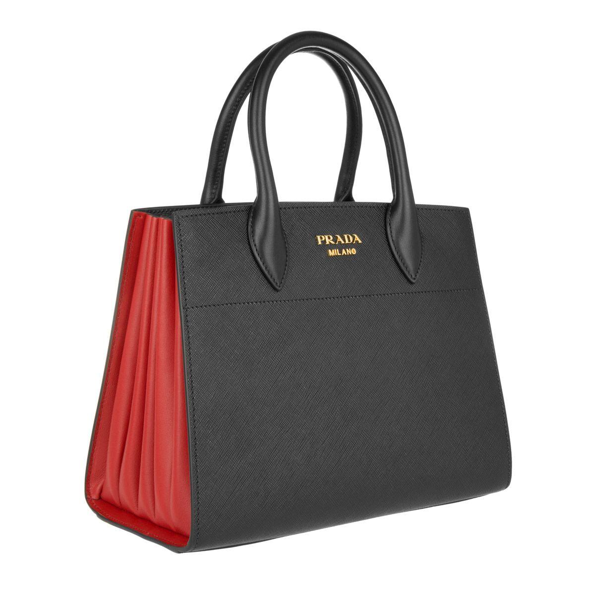 304d9e145da0 Prada Bibliothèque Bag Nero  Fuoco Elle bei Fashionette ...