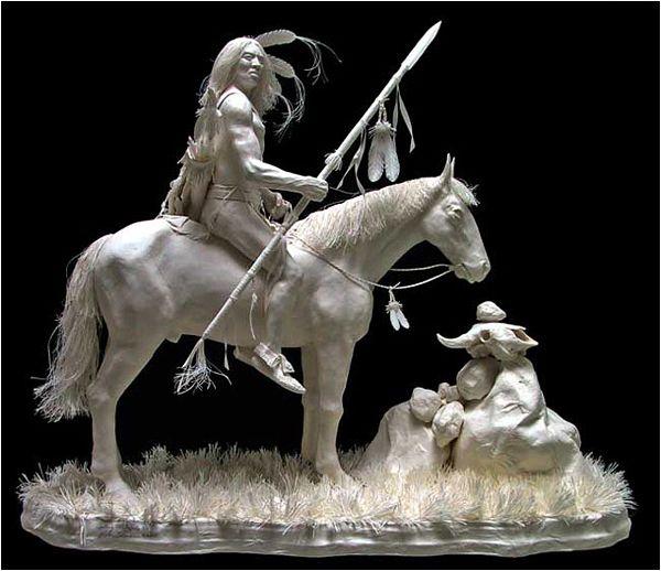 Allen and Patty Eckman paper sculptures..magnificient