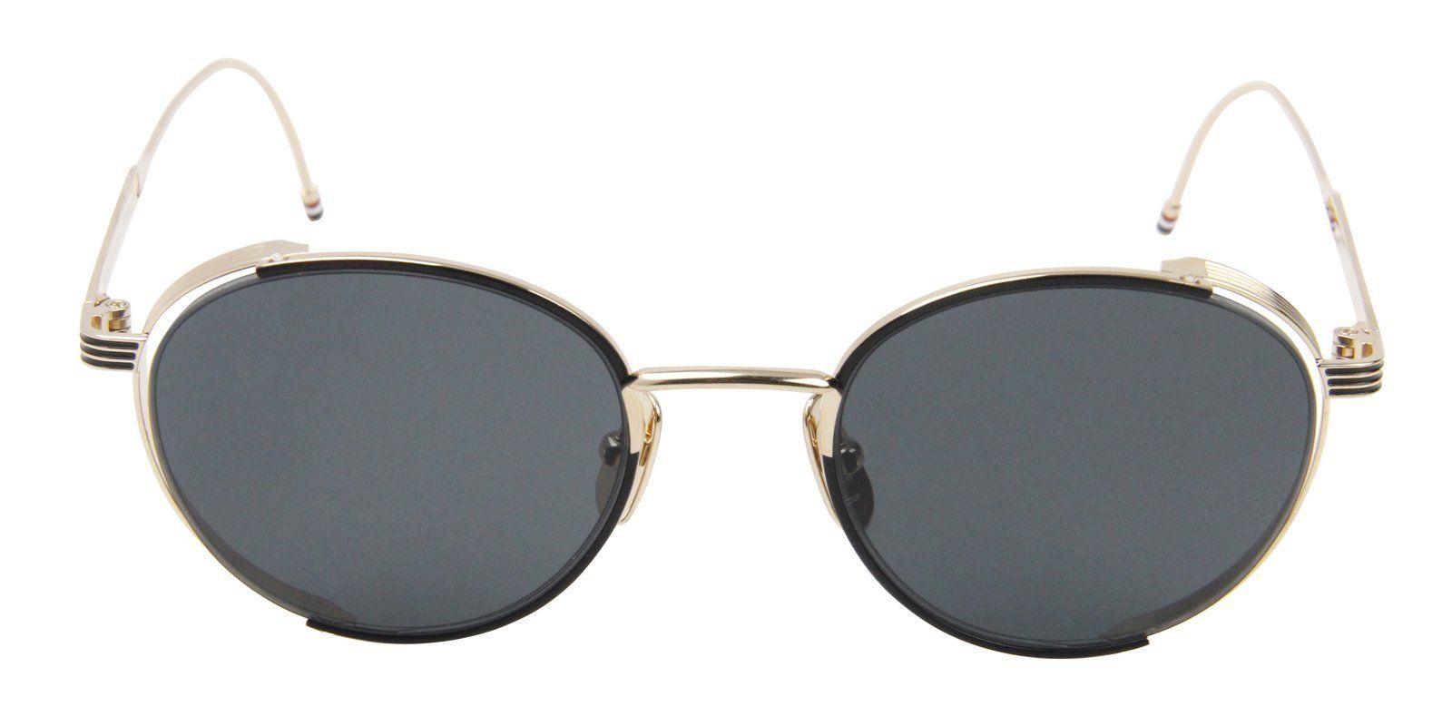19c6ac7e87c1 Thom Browne - TB106A Gold - Green sunglasses
