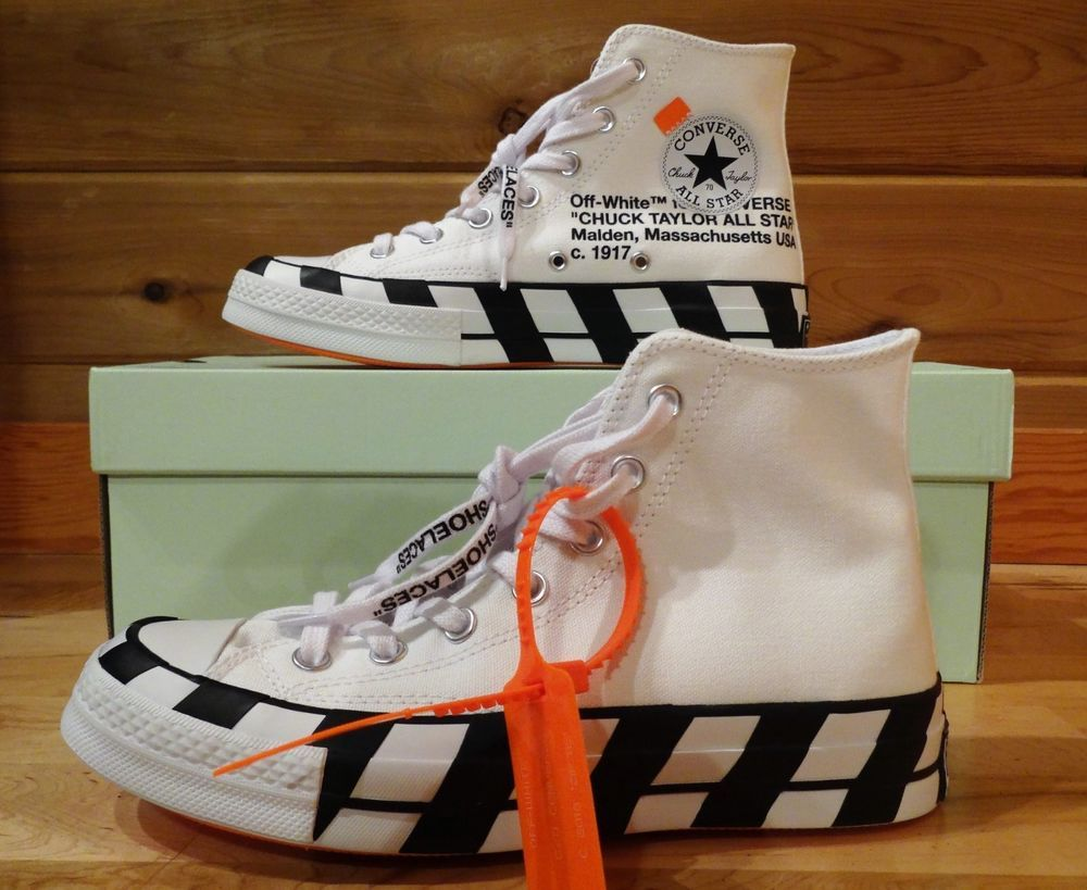 6715c4986e22 BRAND NEW - Converse x OFF-White Chuck 70. MENS SZ 6   WMNS SZ 8  fashion   clothing  shoes  accessories  mensshoes  athleticshoes (ebay link)