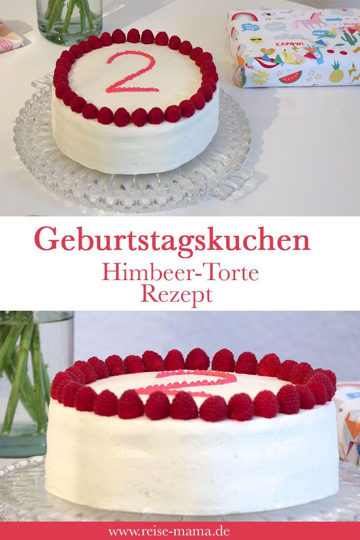 Kuchen Zum 2 Geburtstag Das Rezept Fur Diese Himbeer Torte Eignet Sich Aber Auch Perfekt Als Geburtstagst Kuchen Ideen Himbeer Torte Kuchen Zum 2 Geburtstag